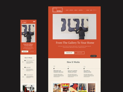 Squares and Rectangles art direction minimal typography web ux branding design