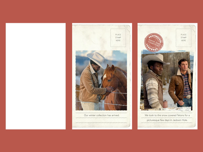 Jackson Hole - F/W 2020 Lookbook motion designer motion illustrator after effects advertisement instagram stories social media art direction video animation editing advertising design
