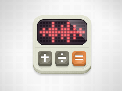 Waveform Calculator v2 icon icons cuban council pcm waveform vintage calculator