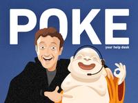 Poke your helpdesk