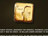 Facebook Gold Logo Download