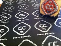 Cuban logo stamps
