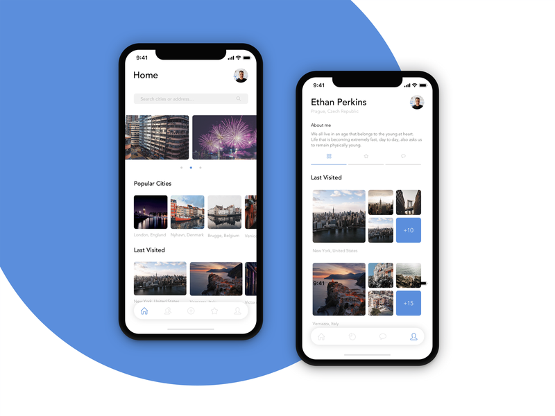 Travel App Design app design mobile clean ux ios ui app minimal design travelling travel app travel