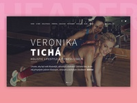 Veronika Tichá Website