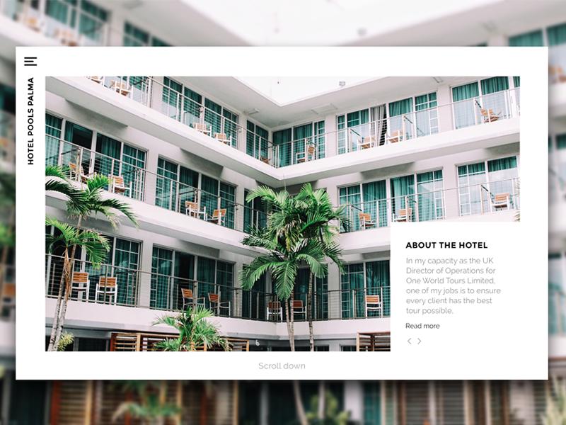 Website header ui clean minimal webdesign design header website
