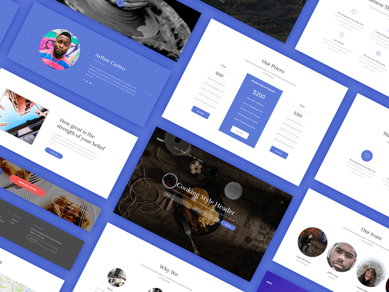 Shift ui kit dribbble