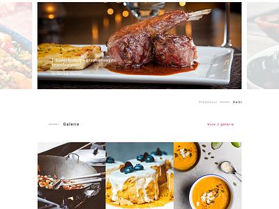 Fresh and Fat Bistro kitchen cooking bistro food fat fresh webdesign website web design homepage