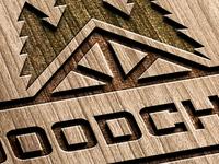 Logo for wood company