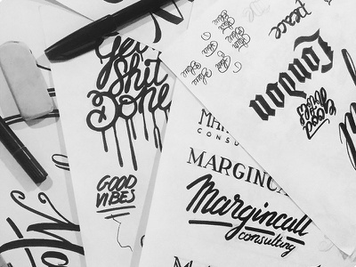 Handletters handletters lettering font type calligraphy typeshit sketch