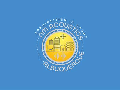 NM ACOUSTICS design logo web artwork sistemo design branding