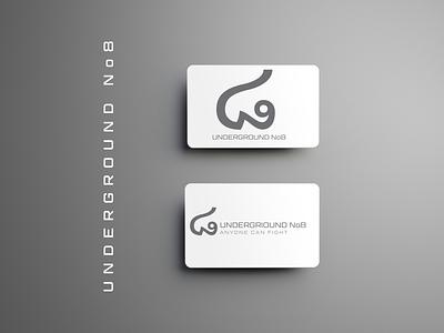 UNDERGROUND No8 icon typography ux logo vector illustration artwork sistemo design design