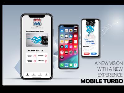 MOBILE TURBO mobile design branding design