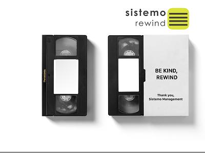 sistemo rewind illustration vector design sistemo design