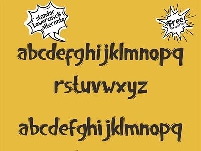 Best in class handlettering vector illustration font design handletter