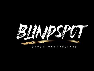 Blindspot Preview typography vector font design handmade handlettering handletter