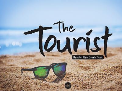 The Tourist Font branding typography design illustration handmade font design handlettering handletter