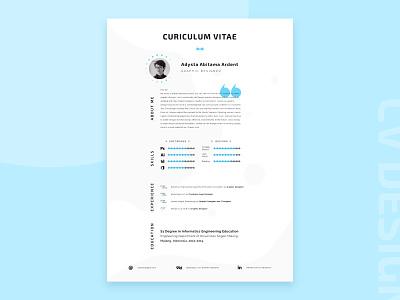 My current CV design resume design resume minimalist minimalistic minimalism clean resume clean cv clean cv resume template cv template cv resume cv design cv adobe illustrator typography design