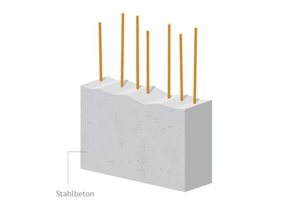 Ferro Concrete concrete illustration grey