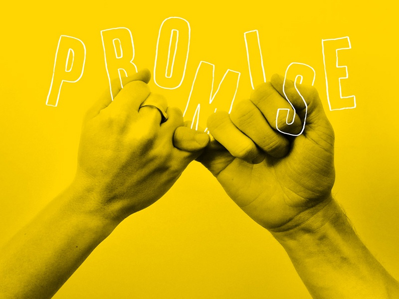 Promise type promise hands photography illustration
