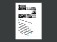 à propos philosophie: Poster idea
