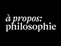 à propos philosophie: Logo