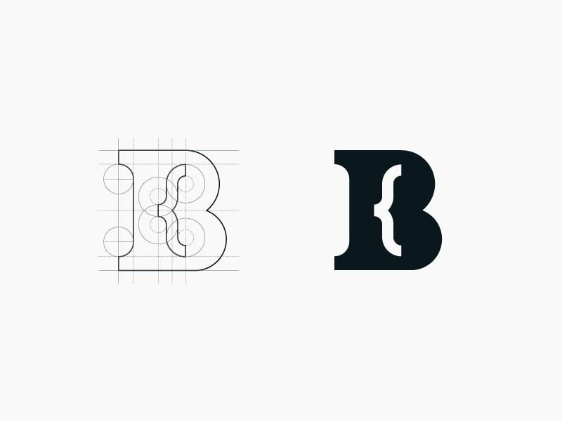 Personal Mark brand negative space identity logo monogram personal initials mark