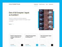 Fjelletborettslag Homepage