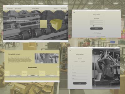 Package Builder Design Concept