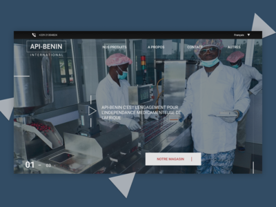 API BENIN - Redesign concept
