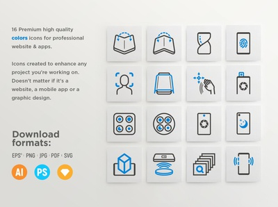 Mobile Technology - 32 Premium icons