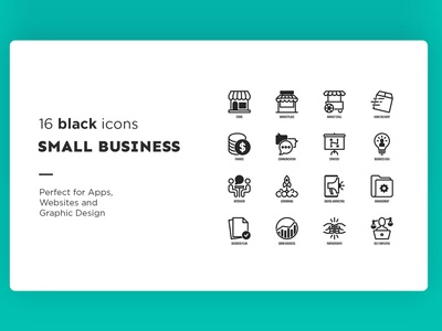 Small Business - 32 Premium icons illustration icons set icons pack sign icon set iconset icons design icons icon design icon business