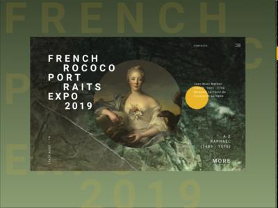 rococo portraits expo