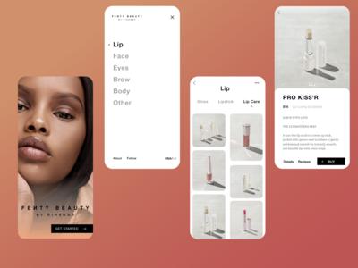 Beauty Online Store Concept