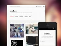 Seventeen - Responsive Tumblr Blog Theme