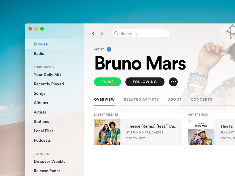 Spotify for macOS [WIP]