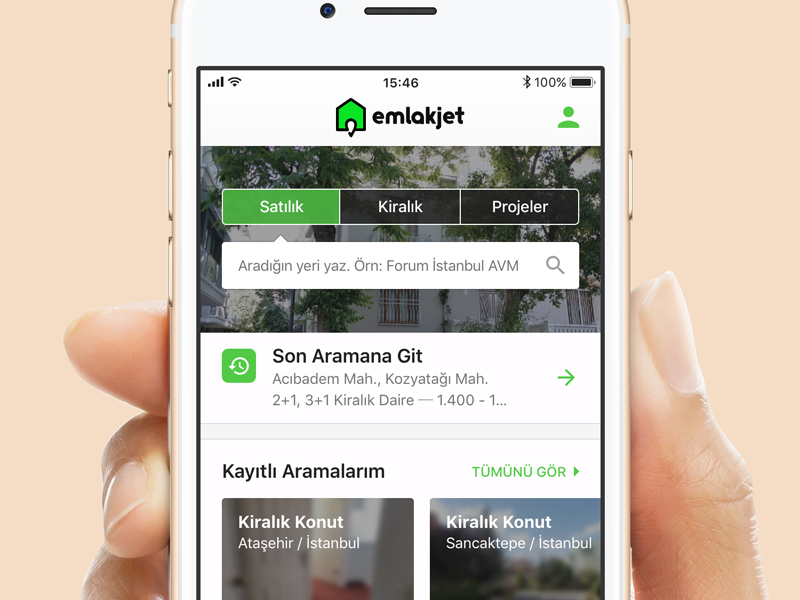 Emlakjet ios application