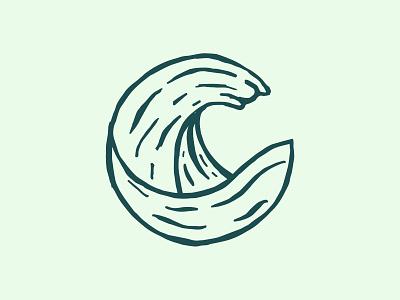 Wild Brew mark web minimal typography branding vector logo illustrator illustration graphic design