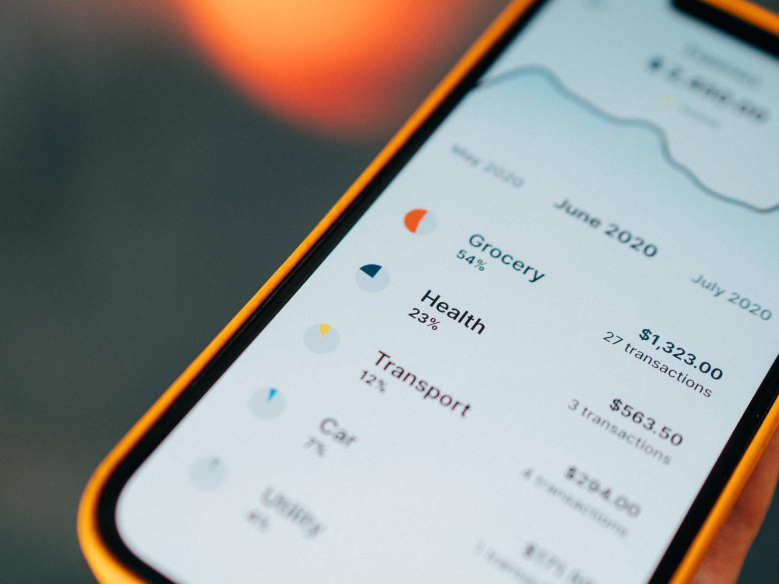 Mobile banking prototype