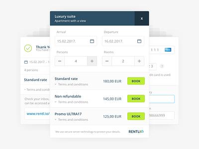 Booking Engine UI widget web ux design sketch user interface engine booking ui