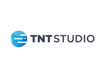 TNT Logo type illustrator blue circle morse graphic tnt design brand logo