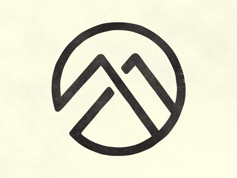 Monolit mark logo mark vanlife van illustration branding brand logo design design logo monolit