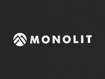 Monolit logo graphic icon illustrator typography branding vector logo illustration design