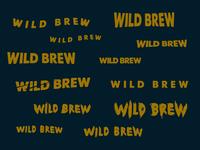 Wild Brew identity