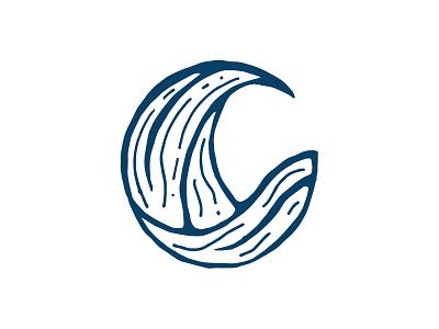Wild Brew mark identity branding brand design brand draw brew stencil logotype mark wave layout vector logo illustrator illustration graphic design