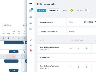 Edit screen interaction design menu user application calendar interaction interface website app flat typography web icon ux ui design