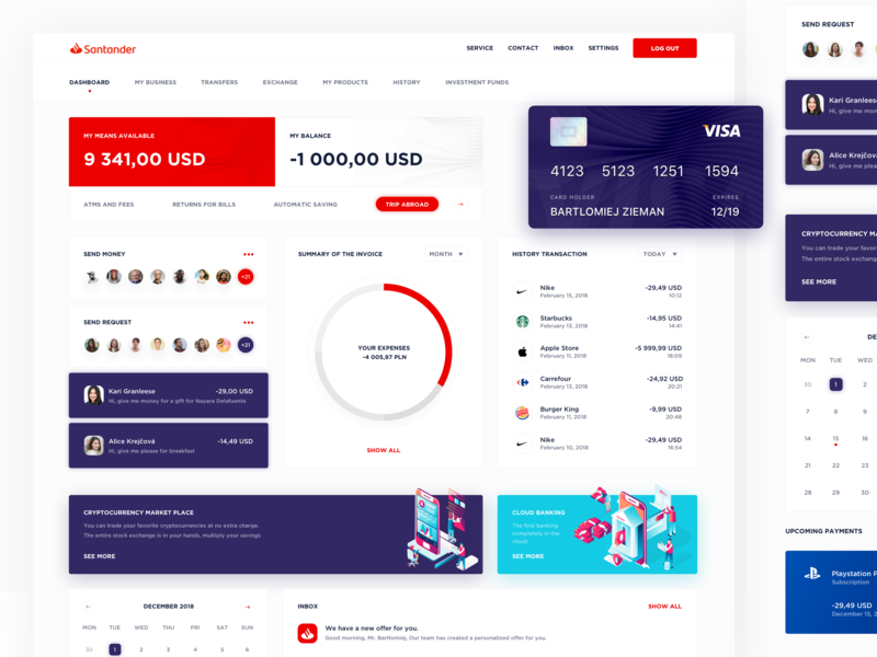 Banking Dashboard chart isometric fintech stats statistics application bank card dashbaord finance app financial bank app bank