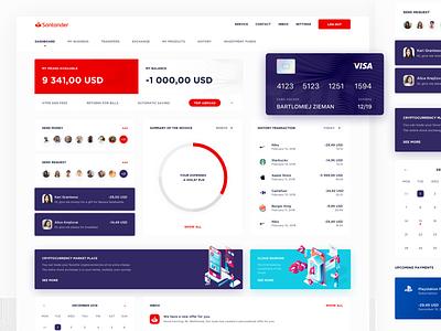 Banking Dashboard chart isometric fintech stats statistics application bank card dashbaord finance app financial bank app bank