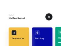 Smart home dashboard x2