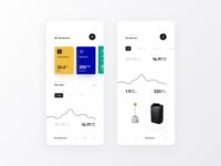 Smart Home - Mobile Dashboard
