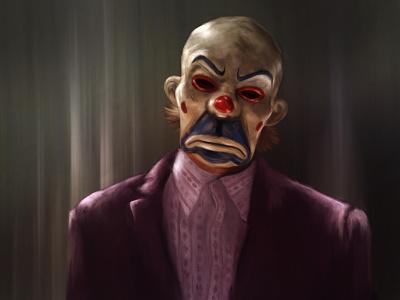 Joker (The Dark Knight) procreate portrait illustration
